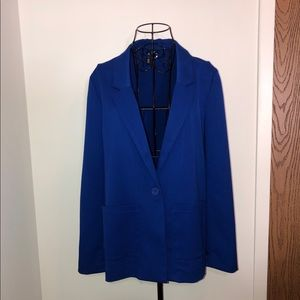 H&M boyfriend blazer in royal blue